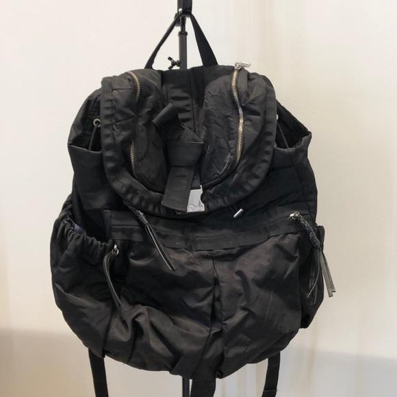 lululemon athletica Handbags - Lululemon black backpack, 70986